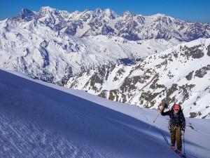 Ski touring guide Alaska