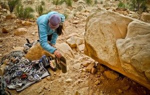 Utah Desert Rock Climbing