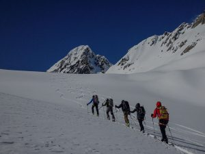 Alaska Guided Skiing